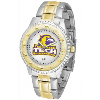 Tennessee Tech University Golden Eagles Mens Watch - Competitor Two-Tone