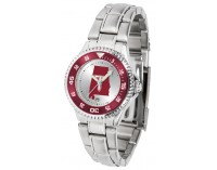Troy University Trojans Ladies Watch - Competitor Steel Band