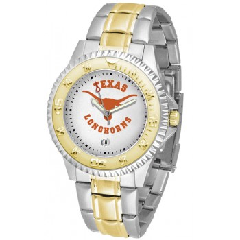 University Of Texas Longhorns Mens Watch - Competitor Two-Tone