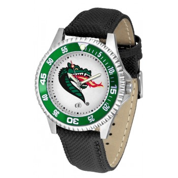 University Of Alabama At Birmingham Uab Blazers Mens Watch - Competitor Poly/Leather Band