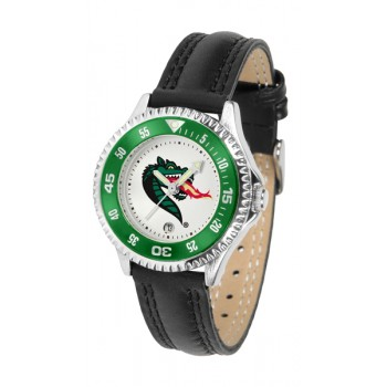 University Of Alabama At Birmingham Uab Blazers Ladies Watch - Competitor Poly/Leather Band