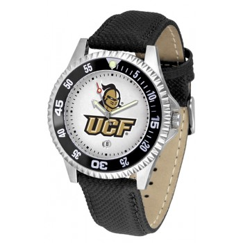 University Of Central Florida Golden Knight Mens Watch - Competitor Poly/Leather Band