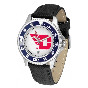 University Of Dayton Flyers Mens Watch - Competitor Poly/Leather Band