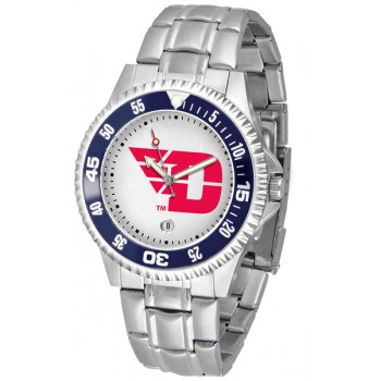 University Of Dayton Flyers Mens Watch - Competitor Steel Band