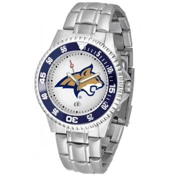 Montana State University Bobcats Mens Watch - Competitor Steel Band