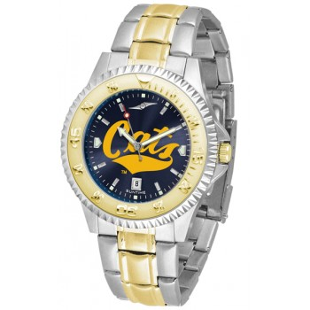 Montana State University Bobcats Mens Watch - Competitor Anochrome Two-Tone