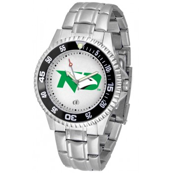 University Of North Dakota Fighting Sioux Mens Watch - Competitor Steel Band