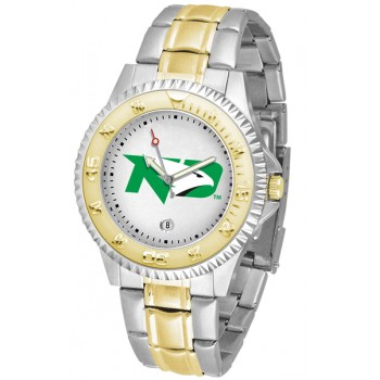 University Of North Dakota Fighting Sioux Mens Watch - Competitor Two-Tone