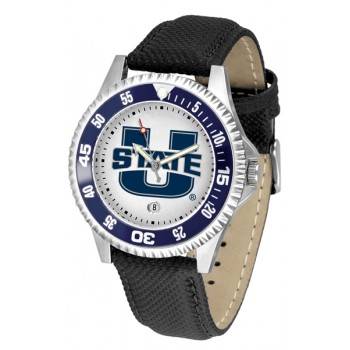 Utah State University Aggies Mens Watch - Competitor Poly/Leather Band