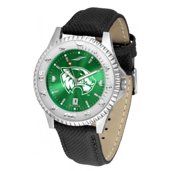 Utah Valley University Wolverines Mens Watch - Competitor Anochrome Poly/Leather Band