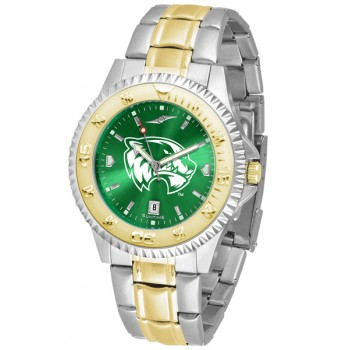Utah Valley University Wolverines Mens Watch - Competitor Anochrome Two-Tone