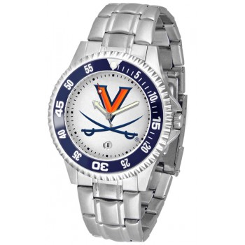 University Of Virginia Cavaliers Mens Watch - Competitor Steel Band