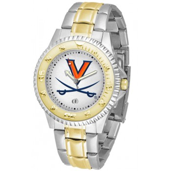 University Of Virginia Cavaliers Mens Watch - Competitor Two-Tone