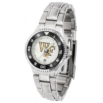 Wake Forest University Demon Deacons Ladies Watch - Competitor Steel Band