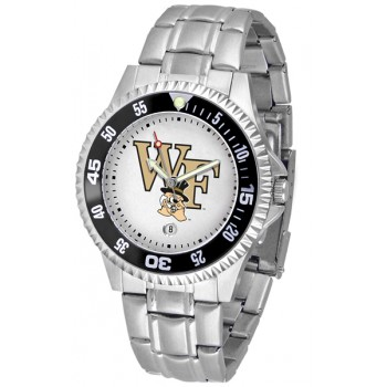 Wake Forest University Demon Deacons Mens Watch - Competitor Steel Band