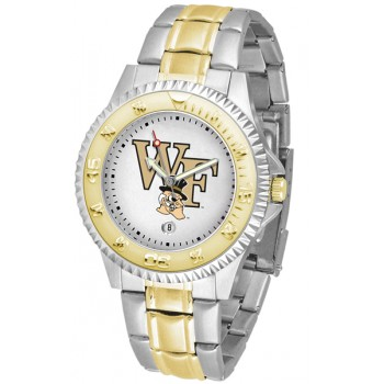 Wake Forest University Demon Deacons Mens Watch - Competitor Two-Tone