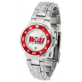 Western Kentucky Hilltoppers Ladies Watch - Competitor Steel Band