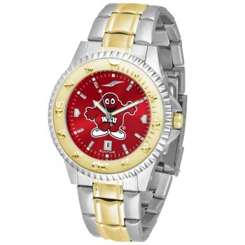 Western Kentucky Hilltoppers Mens Watch - Competitor Anochrome Two-Tone