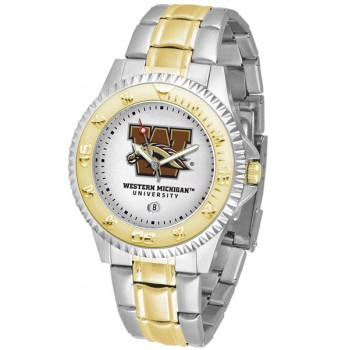 Western Michigan University Broncos Mens Watch - Competitor Two-Tone