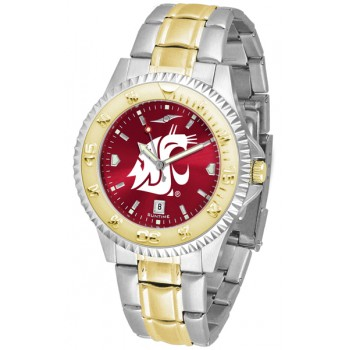 Washington State University Cougars Mens Watch - Competitor Anochrome Two-Tone