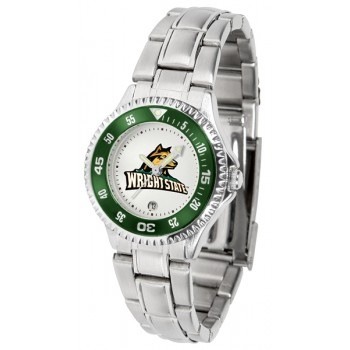 Wright State University Raiders Ladies Watch - Competitor Steel Band