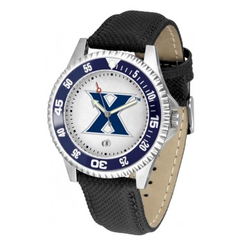 Xavier University Musketeers Mens Watch - Competitor Poly/Leather Band