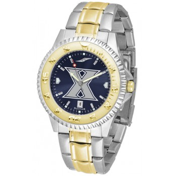 Xavier University Musketeers Mens Watch - Competitor Anochrome Two-Tone