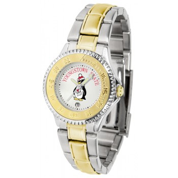 Youngstown State University Penguins Ladies Watch - Competitor Two-Tone