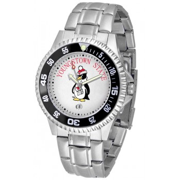 Youngstown State University Penguins Mens Watch - Competitor Steel Band