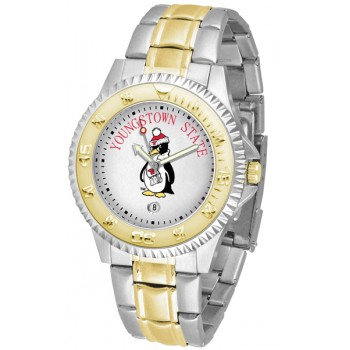 Youngstown State University Penguins Mens Watch - Competitor Two-Tone