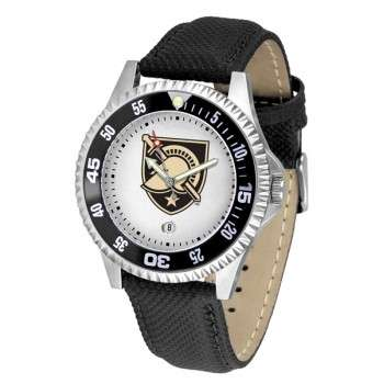 United States Military Academy Army Black Knights Mens Watch - Competitor Poly/Leather Band