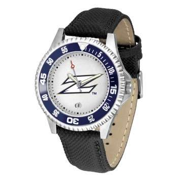 University Of Akron Zips Mens Watch - Competitor Poly/Leather Band