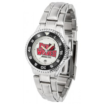 Arkansas State University Indians Ladies Watch - Competitor Steel Band
