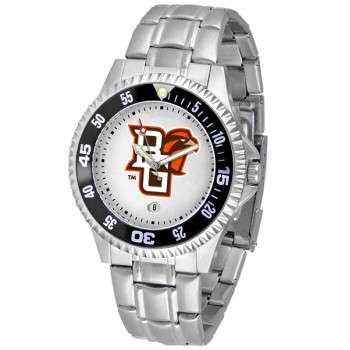 Bowling Green State University Falcons Mens Watch - Competitor Steel Band
