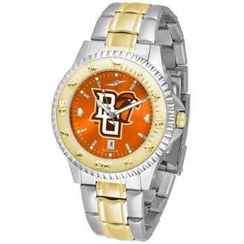 Bowling Green State University Falcons Mens Watch - Competitor Anochrome Two-Tone