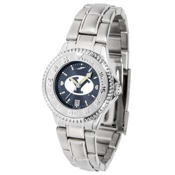 Brigham Young University Cougars Ladies Watch - Competitor Anochrome Steel Band