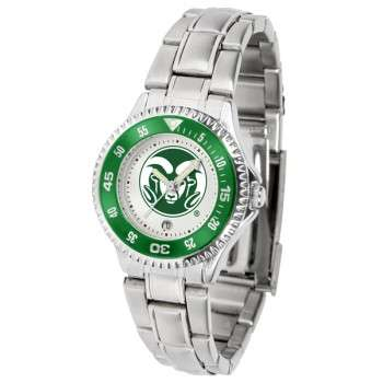 Colorado State University Rams Ladies Watch - Competitor Steel Band