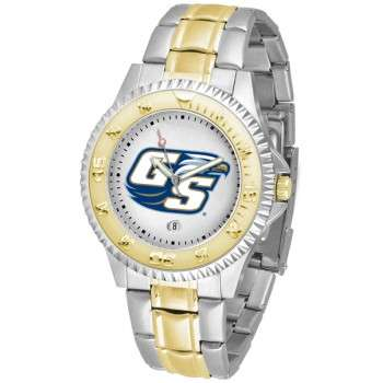 Georgia Southern University Eagles Mens Watch - Competitor Two-Tone
