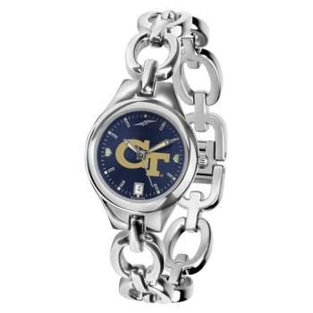 Georgia Institute Of Technology Yellow Jackets Ladies Watch - Anochrome Eclipse Series