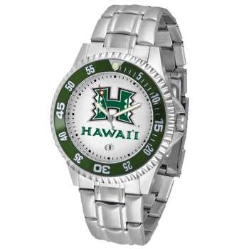 University Of Hawaii Mens Watch - Competitor Steel Band