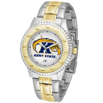 Kent State University Golden Flashes Mens Watch - Competitor Two-Tone