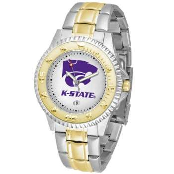 Kansas State University Wildcats Mens Watch - Competitor Two-Tone