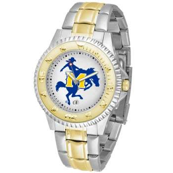Mcneese State University Cowboys Mens Watch - Competitor Two-Tone