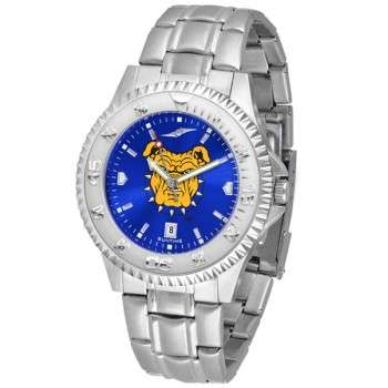 North Carolina A&T University Aggies Mens Watch - Competitor Anochrome Steel Band