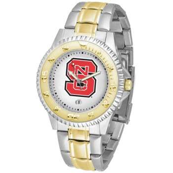 North Carolina State Wolfpack Mens Watch - Competitor Two-Tone