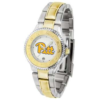 University Of Pittsurgh Panthers Ladies Watch - Competitor Two-Tone