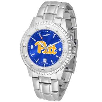 University Of Pittsurgh Panthers Mens Watch - Competitor Anochrome Steel Band