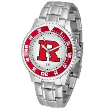 Rutgers Scarlett Knights Mens Watch - Competitor Steel Band