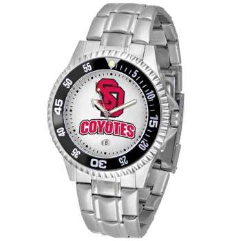 University Of South Dakota Coyotes Mens Watch - Competitor Steel Band
