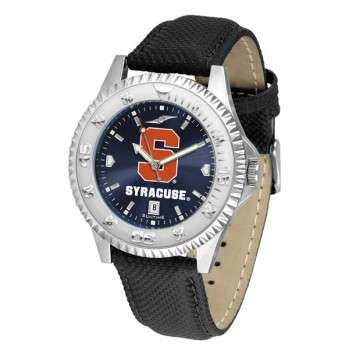 Syracuse University Orange Mens Watch - Competitor Anochrome Poly/Leather Band